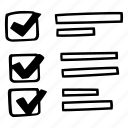 checklist, e-learning, education, elearning, online courses icon