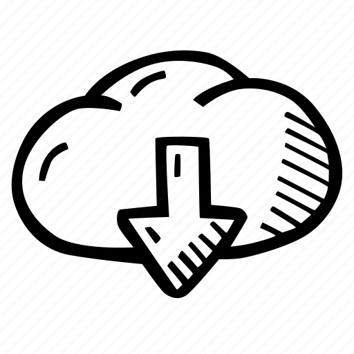 cloud, download, e-learning, education, elearning, online courses icon