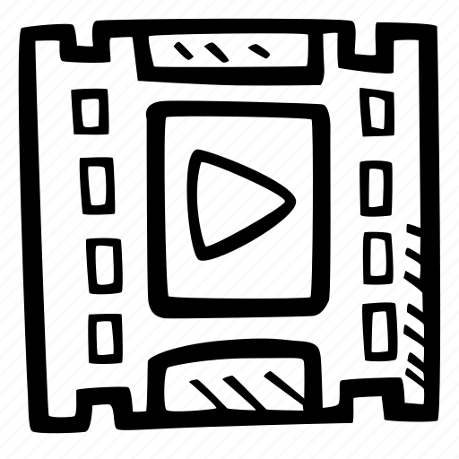 content, e-learning, education, elearning, online courses, play, video icon