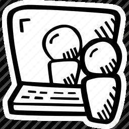 e-learning, education, elearning, online courses, webinar icon
