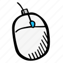 computer, e-learning, education, elearning, mouse, online courses icon