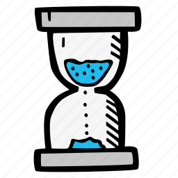 e-learning, education, elearning, hourglass, loading, online courses, time icon