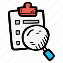 e-learning, education, elearning, research, resources, review, search icon