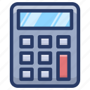 adder, cal, calculating device, calculator, number cruncher icon