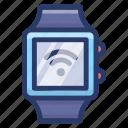 hand gadget, hand watch, smart watch, tech watch, wear watch, wrist watch icon