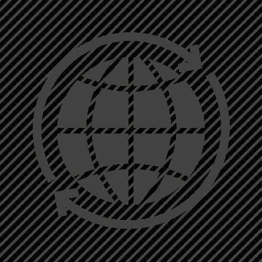 around, connection, globe, internet, knowledge, people, web icon