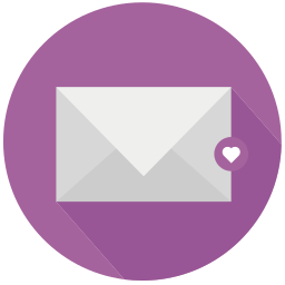 heart, like, love, mail icon