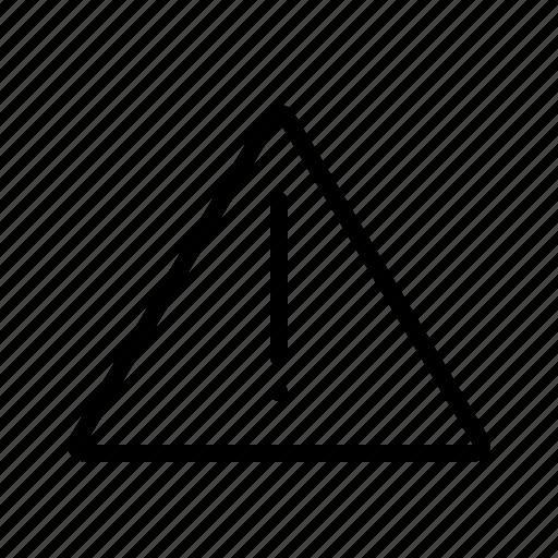 danger, error, interface, ui, user, warning icon
