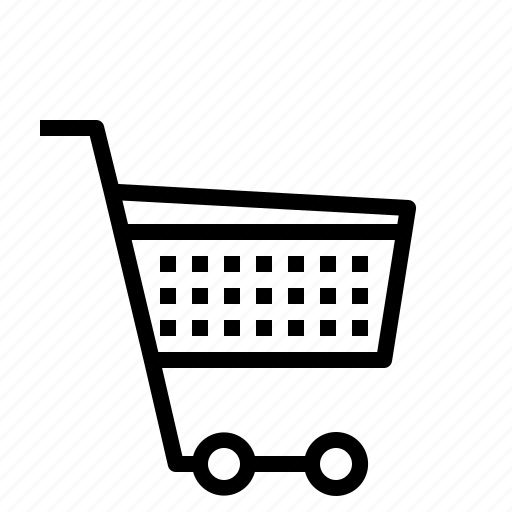 cart, trolley, wheels icon