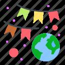 award, earth, garland, green, laurel
