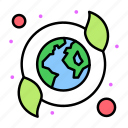 care, earth, ecology, recycled icon