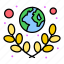 earth, green, planet, save, world