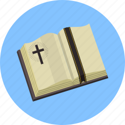 bible, christianity, cross, prayer, religious, scripture icon