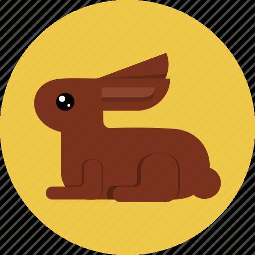 bunny, chocolate, easter, rabbit icon