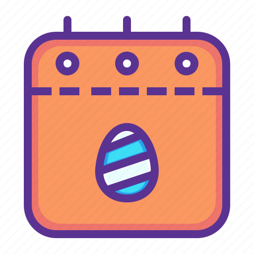 calendar, countdown, date, easter, event, festival icon