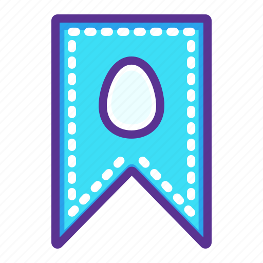 coupon, discount, easter, label, ticket icon