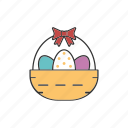 16, april, basket, boiled, bow, bowl, cartoon, celebrate, celebration, christian, christianity, clip art, color, concept, day, decor, decoration, decorative, design, drawing, easter, egg, festival, filled, food, holiday, illustration, isolated, items, jesus christ, logo, logotype, object, ornament, pattern, pictogram, religion, religious, ribbon, shell, spring, style, tradition, vector, web, white icon
