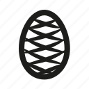 easter, easter egg, egg, rabbit icon