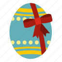 big easter egg, celebration, decoration, easter, greeting, seasonal, traditional icon