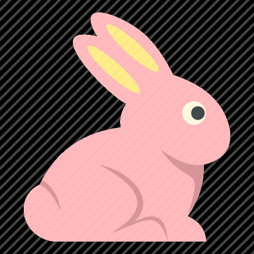 brown, celebrate, celebration, decoration, easter, easter bunny, rabbit icon