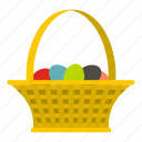 celebrate, celebration, cute, decoration, easter, easter basket, happy icon