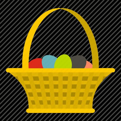celebrate, celebration, cute, decoration, easter, easter basket, happy icon
