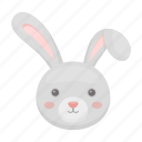 attribute, easter, hare, holiday, muzzle, rabbit, religious icon