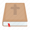 attribute, bible, book, easter, holiday, religious