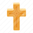 attribute, cross, easter, holiday, religious icon