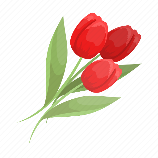 Attribute, easter, flower, holiday, religious, tulip icon - Download on Iconfinder