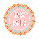 attribute, easter, happy, holiday, religious, sign icon