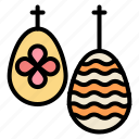 celebration, easter, egg, food icon