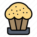 cake, cup, easter, food icon