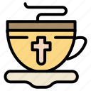 cup, easter, hot, tea icon