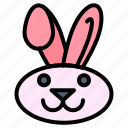 bynny, easter, rabbit icon