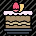 cack, easter, eat, egg