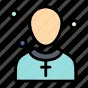 christian, church, male, man, preacher icon