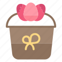 decoration, easter, flower, gift, plant icon