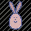 bunny, chocolate, easter, egg