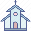 building, catholic, church, easter icon