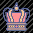 crown, king, monarch