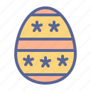 decorated, easter, egg, paschal icon