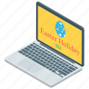 celebratory day, easter app, easter holiday, holiday announcement, online holiday announcement