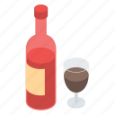 alcoholic drink, beer bottle, champagne, wine, wine bottle icon