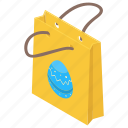 bag, easter shopping, shopping, shopping bag, tote bag icon