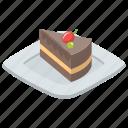 cake, cake slice, cream cake, dessert, easter cake