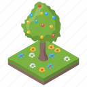 coniferous tree, decorated tree, easter tree, evergreen tree, tree