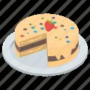 bakery product, cake, cream cake, dessert, easter cake