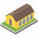 cathedral, christian house, church, church building, worship place icon