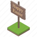 direction sign, easter board, easter road sign, easter signpost, sign board icon